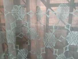 4 piece net curtains in good condition