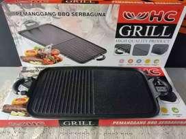PROMO! - GRILL PAN HC MULTI PEMANGGANG BBQ SERBAGUNA-ANTI LENGKET