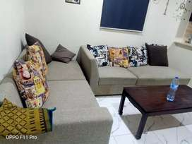 E 11 Short Time per day and per night flat available Fully Furnished