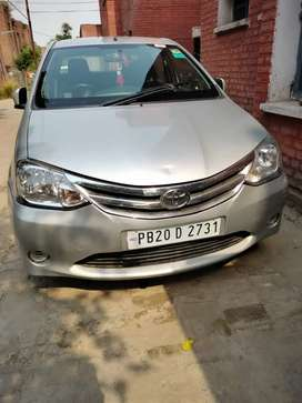 Toyota Etios 2013 Petrol Well Maintained
