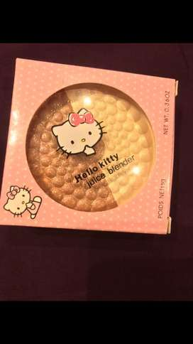 Hello Kitty 2 in 1 highlighter in shade bronze and silver