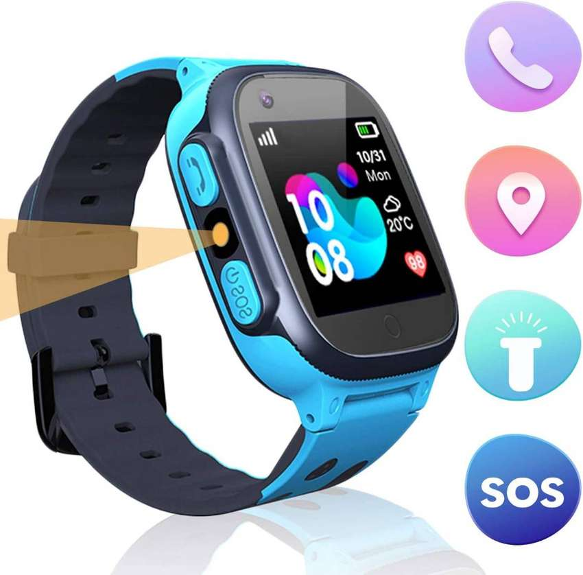 Kids Smart Watch, Compatible with Android and iOS, SOS Call Touch 0