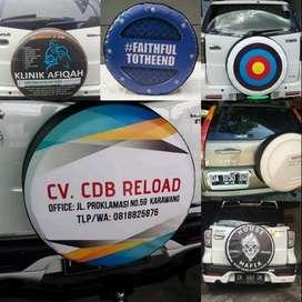 Cover/Sarung Ban Jeep/Rush/Terios/Touring/Ecosport/Dsb jklz Kece  kami