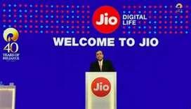 Bumper hiring reliance Jio telecom networking towers