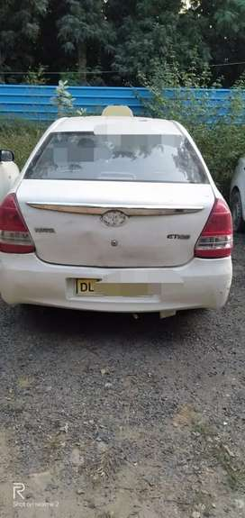 2014 petrol etios Vehicls in Delhi with noc any state