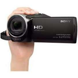 Sony cx405 hd camera hai new condition me hai no any fault