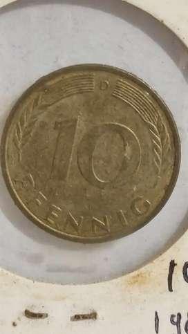 10 Pefnnig Jerman tahun 1980 [10PJ]