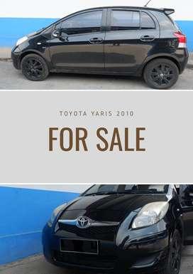 Toyota Yaris thn.2010 warna Hitam Automatic