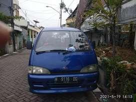 Mini bus Espass Biru Metalik
