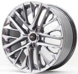 baru pelek mobil ring 18x8 H5X114,3 untuk mobil xpander civic dll