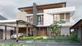 Jasa Arsitek Tangerang Desain Rumah 713m2 - Emporio Architect