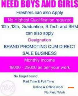 Start our own business opportunity