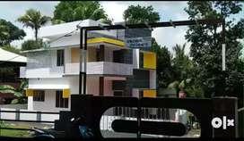 3.75 cent 1450 sqft 3 bhk new build  at aluva u.c collage  millupady