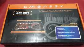 POWER MONOBLOK EMBASSY EM-881 POWER AMPLIFIER 1CHANEL50000WATT+PASANG