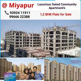 Have a look, %1BHK % Flat For Sale in Miyapur, Hyderabad.