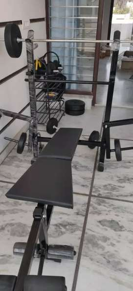 Home Gym only one month old, all sets in perfect condition
