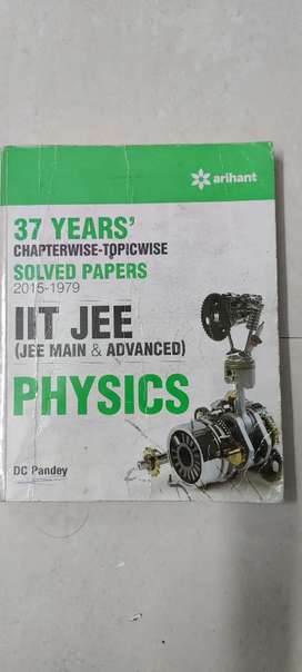 IIT JEE Physics 37 years Solved Papers