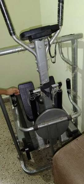 Tredmil in cheap price one machine 3 exercise