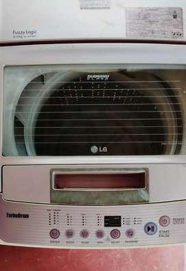 Lg 6 kg turbo drum top loading washing machine