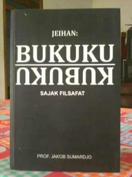 Buku Sajak Filsafat Jeihan , karya : prof. Jakob Sumardjo .