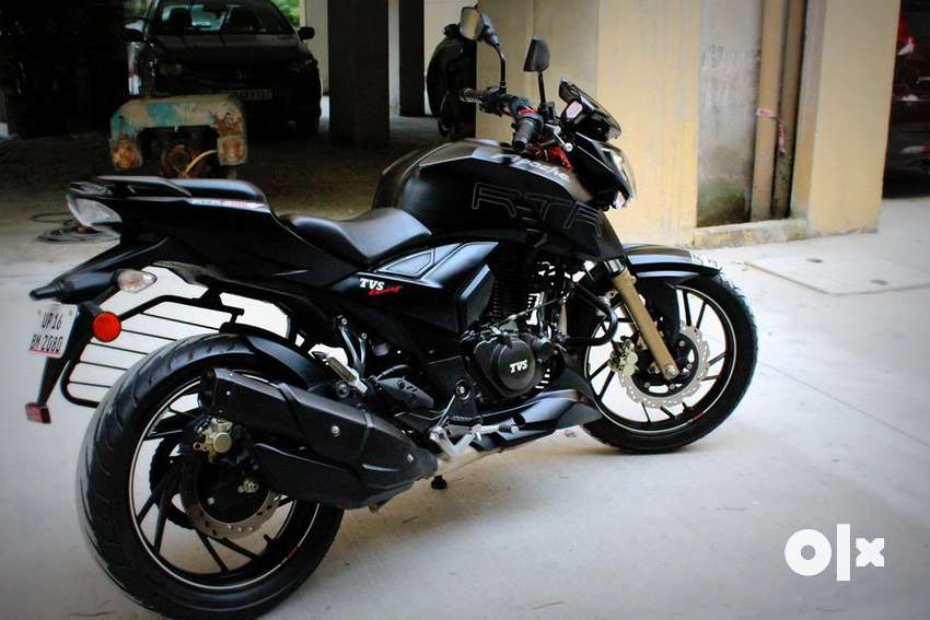 Apache RTR 200 in matt black color- Pirelli edition. Brand new bike. 0