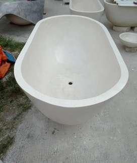 Bathub minimalis marmer jumbo terazzo