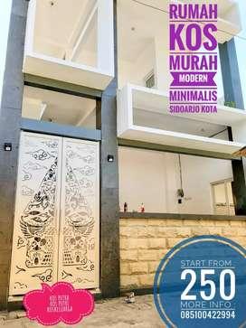Rumah KOS Murah modern minimalis Sidoarjo Kota