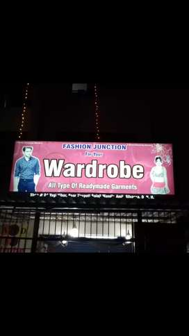 Sign board for shop