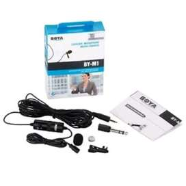 HS Mic BOYA BY-M1 lavalier microphone for smartphone & DSLR camera