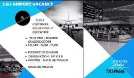 S.B.I AIRPORT VACANCY