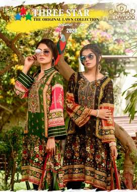 Three Star Printed Collection by Al Dawood Textile...