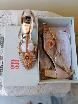Almost New Bridal Wear Heels for sale in Very Reasonable Price Size 40