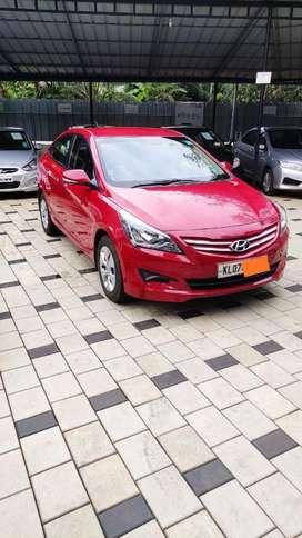 Hyundai Fluidic Verna 1.4 VTVT, 2016, Petrol