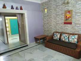 2BHK independent house with semi furniture in ground floor.