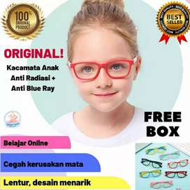 Original Kacamata anti radiasi anak dan anti blue ray