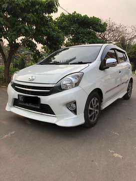 Toyota new agya G TRD 2016 nik 2015 matic at mulus