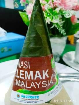 Nasi Lemak Khas Malaysia