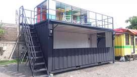 Container cafe/container office ,container serba guna