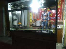 Shawarma stall full steel made non magnet 100% genuine steel made
