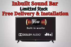 40 Smart Inbuilt Sound Bar 2 Yr Full Replacement Grantee Bill