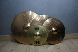 Paiste PST 8 (Crash 16', Crash 18', Ride 20') free Meinl HCS splash 12