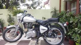 Royal Enfield Bullet Silver Electra, with the best Number. 4 yrs young