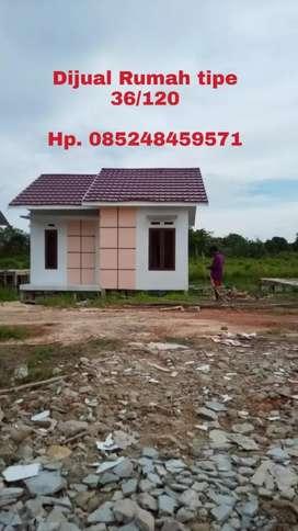 Rumah tipe 36 full beton, bata ringan...