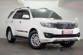 Hot Deal Stock Fortuner G VNT TRD Matic 2013 End Year Sale