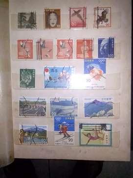 Jual koleksi filateli perangko