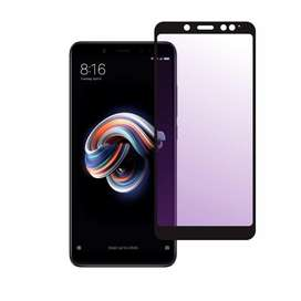 Violet Tempered Glass Blue Ray Xiaomi Redmi Note 5 Pro
