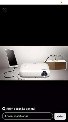 LG MINI PROYEKTOR  LG PW1000 1000 Lumen Minibeam LED Projector