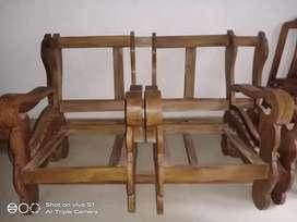 Teak sofa setty for sale