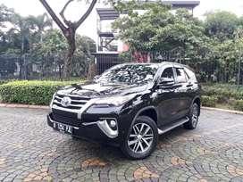 (Tdp 39jt,Pajak Bln 2 2021)Toyota Fortuner VRZ 2017 4x2 AT Diesel