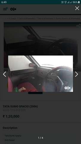 Tata Sumo Spacio 2006 Diesel Good Condition